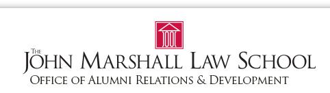 The John Marshall Law School Office of Alumni Relations & Development