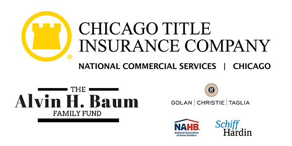 Chicago Title Insurance Company, The Alvin H. Baum Family Fund, Golan & Christie, Schiff Hardin, National Association of Home Builders